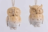 Item # 360144 - Natural Owl Ornament