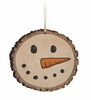 Item # 364011 - Snowman Barky Ornament