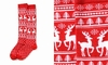 Item # 408606 - Deer Women's Knee Socks