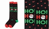 Item # 408609 - Ho Ho Ho Women's Knee Socks