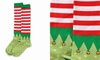 Item # 408611 - Stripes Women's Knee Socks