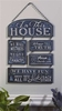 Item # 408631 - In This House Chalk Talk Wall Plaque