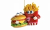 Item # 408652 - Burger and Fries BFF Christmas Ornament
