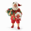Item # 410023 - Christmas By The Bay Possible Dreams Clothtique Santa