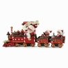 Item # 410050 - All Aboard Possible Dreams Clothtique Santa