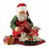 Item # 410082 - Santa's Antique Horse Possible Dreams Clothtique Santa