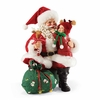 Item # 410095 - Deerly Loved Possible Dreams Clothtique Santa
