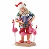 Item # 410103 - Holiday Flocking Possible Dreams Clothtique Santa
