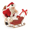 Item # 410132 - All Snug In The Sled Possible Dreams Clothtique Santa