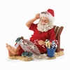 Item # 410158 - Sandy Claus Possible Dreams Clothtique Santa