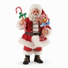 Item # 410173 - Candy Cane Wishes Possible Dreams Clothtique Santa