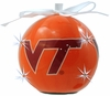 Item # 416026 - Virginia Tech Hokies LED Flashing Ball Ornament