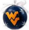 Item # 416057 - Blue West Virginia University Mountaineers LED Flashing Ball Christmas Ornament