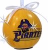 Item # 416059 - East Carolina University Pirates LED Flashing Ball Ornament