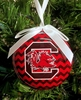 Item # 416073 - University of South Carolina Gamecocks Chevron Ornament