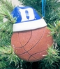 Item # 416162 - Duke University Blue Devils Santa Hat With Basketball Ornament