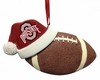 Item # 416164 - Ohio State University Buckeyes Santa Hat With Football Ornament