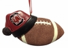 Item # 416168 - University of South Carolina Gamecocks Santa Hat With Football Ornament