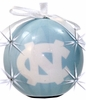 Item # 416224 - University of North Carolina Tar Heels LED Flashing Ball Christmas Ornament