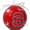 Item # 416227 - North Carolina State University Wolfpack LED Flashing Ball Christmas Ornament