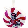 Item # 416228 - North Carolina State University Wolfpack Peppermint Ornament