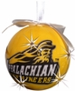 Item # 416232 - Appalachian State University Mountaineers LED Flashing Ball Christmas Ornament