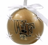 Item # 416235 - Wake Forest University Demon Deacons LED Flashing Ball Christmas Ornament