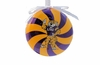 Item # 416246 - Louisiana State University Tigers Peppermint Christmas Ornament