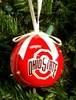 Item # 416250 - Ohio State University Buckeyes LED Flashing Ball Christmas Ornament