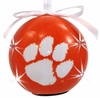 Item # 416266 - Clemson University Tigers LED Flashing Ball Christmas Ornament