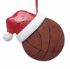 Item # 416275 - North Carolina State University Wolfpack Santa Hat With Basketball Ornament