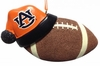 Item # 416280 - Auburn University Tigers Santa Hat With Football Christmas Ornament