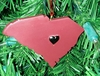Item # 416290 - University of South Carolina Gamecocks Heart Ornament