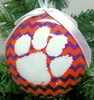 Item # 416300 - Clemson University Tigers Chevron Ornament