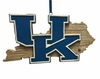 Item # 416341 - University of Kentucky Wildcats Map Ornament