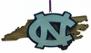 Item # 416343 - University of North Carolina Tar Heels Map Ornament