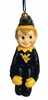 Item # 416366 - West Virginia University Mountaineers Pixie Ornament