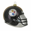"Item # 420005 - 3"" Glass Pittsburgh Steelers Helmet Christmas Ornament"