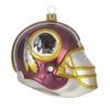 "Item # 420006 - 3"" Glass Washington Redskins Helmet Christmas Ornament"