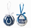 Item # 420122 - Indianapolis Colts Light Up LED Ball Christmas Ornament
