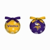 Item # 420132 - Minnesota Vikings Light Up LED Ball Christmas Ornament