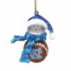 Item # 420146 - University of North Carolina Tar Heels Basketball Snowman Ornament