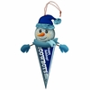 Item # 420170 - Dallas Cowboys Light Up Snowman Pennant Christmas Ornament