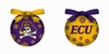Item # 420178 - East Carolina University Pirates Light Up LED Ball Christmas Ornament