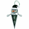 Item # 420314 - New York Jets Light Up Snowman Pennant Christmas Ornament