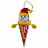 Item # 420347 - Washington Redskins Light Up Snowman Pennant Christmas Ornament