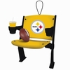 Item # 420439 - Pittsburgh Steelers Stadium Seat Christmas Ornament