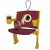 Item # 420447 - Washington Redskins Stadium Seat Christmas Ornament