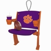 Item # 420458 - Clemson University Tigers Stadium Seat Ornament