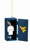 Item # 420500 - West Virginia University Mountaineers Locker Ornament